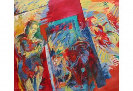 Oel auf Leinwand 140 x 160 cm 1986