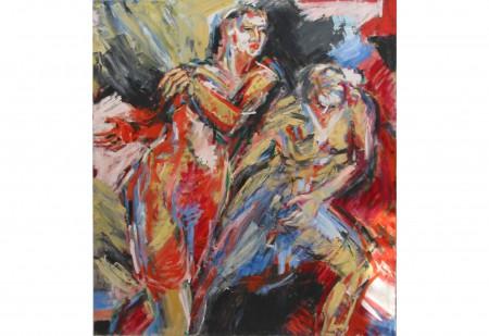 Oel auf Leinwand 160 x 140 cm 1986