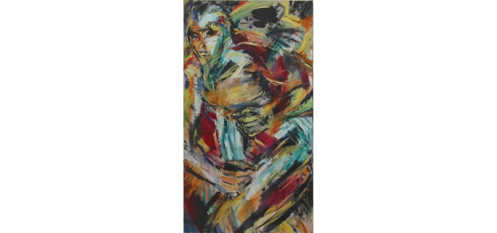 Oel auf Leinwand 170 x 90 cm 1987