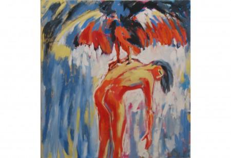 Oel auf Leinwand 140 x 130 cm 1983