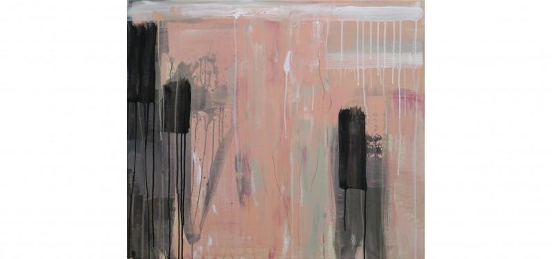 Die Erinnerung verblasst-2015-Acryl Leinwand-70 x 80